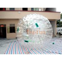 Transparent Inflatable Toy-Big Soccer Ball With Durable Plato PVC / TPU Manufactures