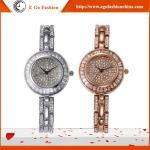 YQ03 Hotsale Watches Woman Luxury Rose Gold Silver Watch Full Diamond Watch Bracelet Watch Manufactures