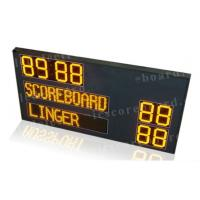 P12mm Pixel Module Team Name LED Horsepolo Scoreboard with Digits in Yellow Color Manufactures