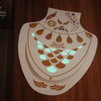 Glowing temporary tattoo, glow in the dark temporary tattoo Manufactures