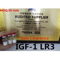China IGF-1LR3 Legal Human Growth Hormone Peptide Deliver Quality & Safely Pass Custom on sale