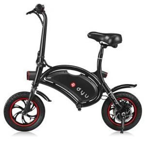 www.yolcart.com F - wheel DYU 12 inch 10Ah Folding Electric Bike ( Deluxe ) - BLACK Manufactures