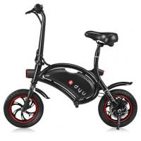YOLCART.COM F - wheel DYU 12 inch 10Ah Folding Electric Bike ( Deluxe ) - BLACK Manufactures