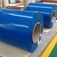 Flat Color Coated Aluminum Coil  Aluminum Roofing Coil PE PVDF Coating Manufactures