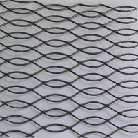 S-18 Carbon Steel Powder Coating Expanded Metal Mesh For Fence Manufactures
