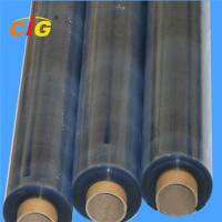 Flexible Clear PVC Transparent Film , Stretch Protective Plastic Film Roll Manufactures