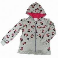 Men's Hoodie Jacket, Made of Poly Cotton Fleece with Sherpa Lining, Various Colors are Available Manufactures