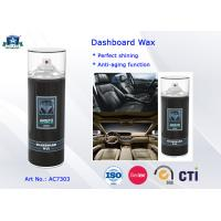 Eco-friendly Auto Care Products Car Wax Dashboard Polish Protectant / Cockpit Spray 400ml