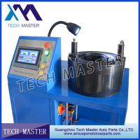 China Wire Crimping Tool Hydraulic Hose Air Suspension Crimping Machine For Air Spring on sale