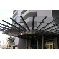 Ultra Long Durability Metal Canopies And Awnings Rainwater Self Cleaning Sound Absorbing Manufactures