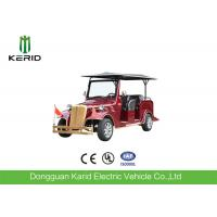Low Noise Electric Vintage Cars , 8 Person Classic Electric Vehicle For Tourist Manufactures