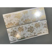 Hot Stamping Decorative PVC Panels With Persistent Material Long Using Life Manufactures