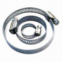 Hose Clamps, Available in Various Sizes Manufactures