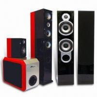 Cabinet and Home Theater System with Vaneer Finish Bookshelf Cabinet Speaker Manufactures