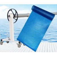 China Portable Thermal PE Bubble Plastic Swimming Pool Covers Thickness 400um 500um 600um on sale