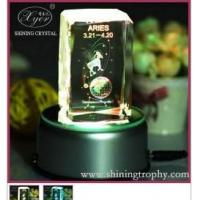 Lovely Aries 3D Laser Crystal Manufactures