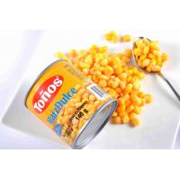 China Golden Yellow Canned Sweet Corn Fresh Raw Material Various Specification on sale