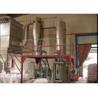 Rotary Industrial Flash Dryer , Kaolin Air Flash Dryer ISO9001 Certification Manufactures