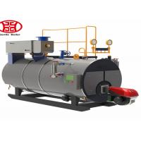 3 Pass Oil Fired Steam Boiler , Diesel Fired Industrial Multi Fuel Steam Boiler Manufactures