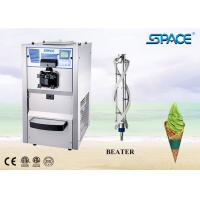 Table Top Soft Serve Freezer Commercial Ice Cream Making Machine 38Liter/Hour Manufactures
