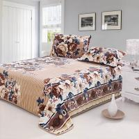 flower printed flannel bedding set Manufactures