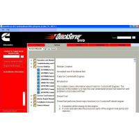 Heavy Duty Truck Diagnostic Software Cummins Quickserve for Family Engine Manufactures