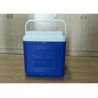 24L Plastic Foam Green Cold Chain Pcm Packaging Cooler Box With Handle In Medical Manufactures