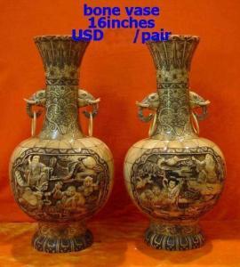 bone vase bone carving Manufactures