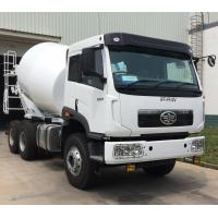 10cbm Right Hand Drive 6x4 Concrete Mixer Truck With 3m3/Min Charging Speed And 400L Water Tanker Manufactures