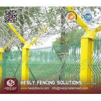 China HESLY 3D Welded Wire Panel Fence on sale