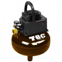 China 3-gal, Pancake Oilless Air Compressor on sale