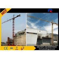 Topkit External Climbing Tower Crane Height Anchorage120m With Ergonomic Cabs Manufactures