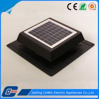 Home Appliance Solar Panel Roof Fan , Solar Roof Mounted Power Attic Ventilator Manufactures