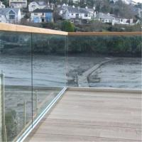 2018 U channel glass railing baluster deck balusters aluminum Manufactures