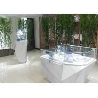 Quality Wooden Glass Jewelry Showroom Display Cabinets Bizarre Style Design for sale