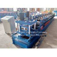 Buy cheap 80 - 300 mm Manual Change Size C Purlin Roll Forming Machine Roofing Usage from wholesalers