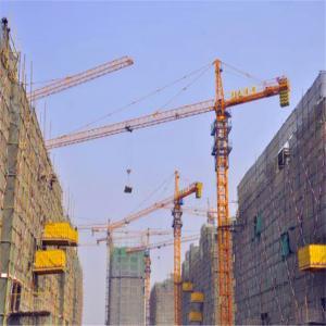 Professional Design Tip Load 2.4t Qtz100 Remote Control Tower Crane Manufactures