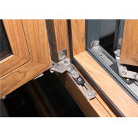 China Aluminum Frame Glass Windows Door Closer 1.2 Mm - 2.2 Mm Profile Thickness on sale