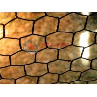 Quality 1 Inch Black PVC Coated Hexagonal Mesh 18 Gauge Wire Wholesale from Professional for sale