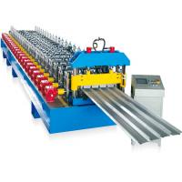 5.5KW Main Motor Power Wall Panel Roll Forming Machine For Construction Material Manufactures
