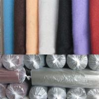 China Chinese good quality needle punched polyester felt roll on sale