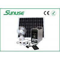 18.4V 100W complete home Solar Power System for MP3 player / radio Manufactures