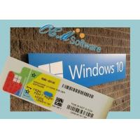 China Digital Form Windows 10 Professional License Key / Windows 10 Pro Retail Key on sale