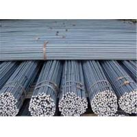 AISI, ASTM HRB 400 Steel Rebar 6mm / Iron Rods For Construction Manufactures