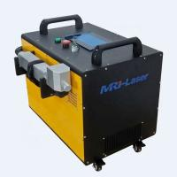 China Hand Held Fiber Laser Cleaning Machine Forced Air Cooling With 2 Years Warranty on sale