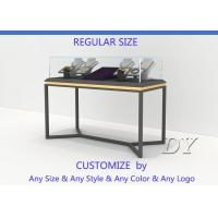 Quality All In One Services Inexpensive Metal Glass Jewelry Display Cases for sale