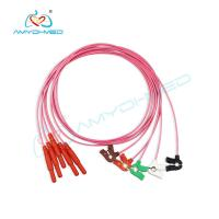 Buy cheap Wholesale Medical Supplies,OEM PPG 5 Leads clip holter ECG cable,IEC AHA SNAP from wholesalers