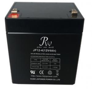 Jopower JP 12V4Ah Rechargeable Valve Regulated Lead Acid AGM Battery