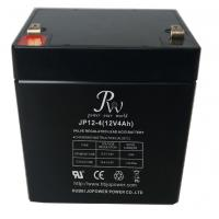 Quality Jopower JP 12V4Ah Rechargeable Valve Regulated Lead Acid AGM Battery for sale