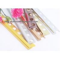 Quarter Round Aluminium Tile Edge Trim For Outside Corner Tile Edge Protection Manufactures